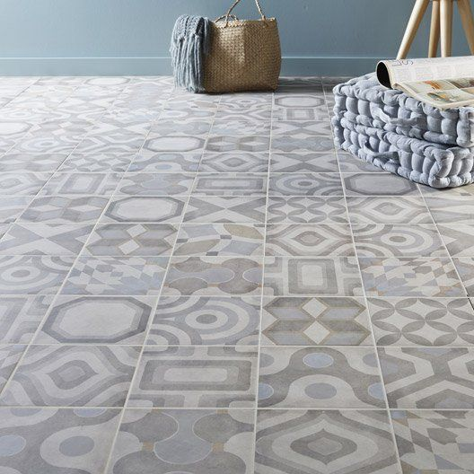 Carrelage int rieur arlequin artens en gr s c rame maill for Carrelage gatsby point p