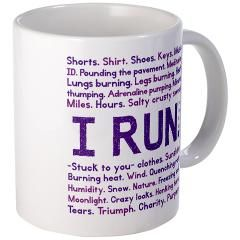 New I RUN. in purple Mug > New I RUN. in purple > Owl Moon Designs