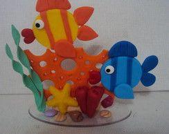 peixinhos bebe com biscuit - Pesquisa Google