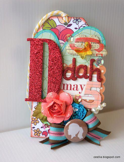 Deedah Chipboard Tag: May 2012