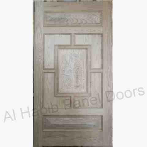 Solid Wood Entry Door Hpd106 Solid Wood Doors Al Habib Panel Doors In 2020 Wood Doors Solid Wood Doors Wooden Main Door Design