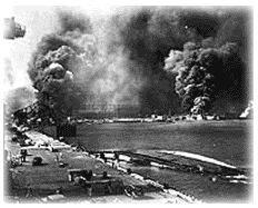 Pearl Harbor during attack