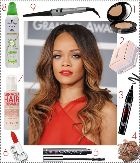 Try it tonight: Rihannas show stopping Grammys look