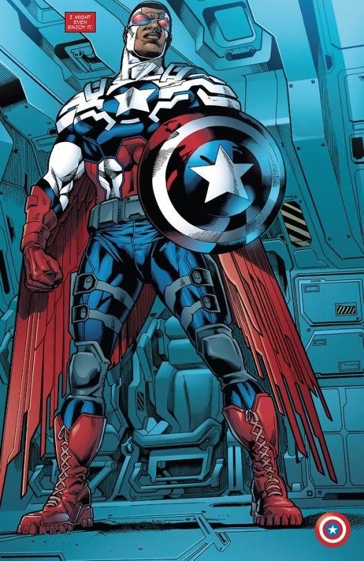 Comics Comics Everywhere Falcon Marvel Captain America Art Next Avengers