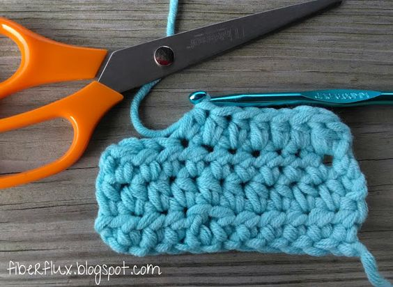 Fiber Flux...Adventures in Stitching: How To Weave In Ends As You Go