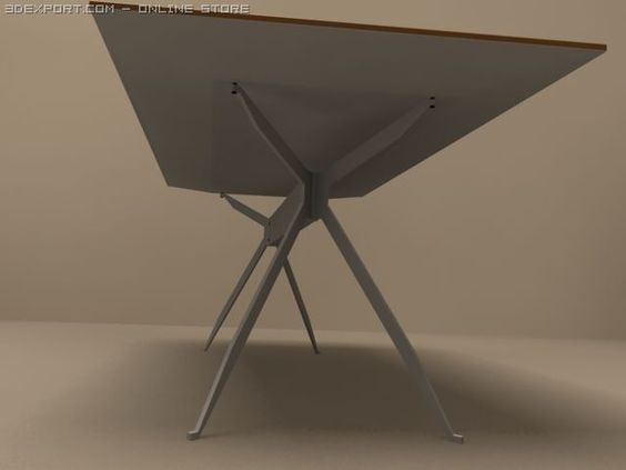3D Model Jei desk by MolteniC c4d, obj, 3ds, fbx, ma, lwo 17490