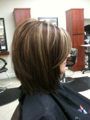 """""""Hair: cut and color""""  I would get the highlights in red-violet / wine / fuchsia.  I just get tired of maintaining them :P"""