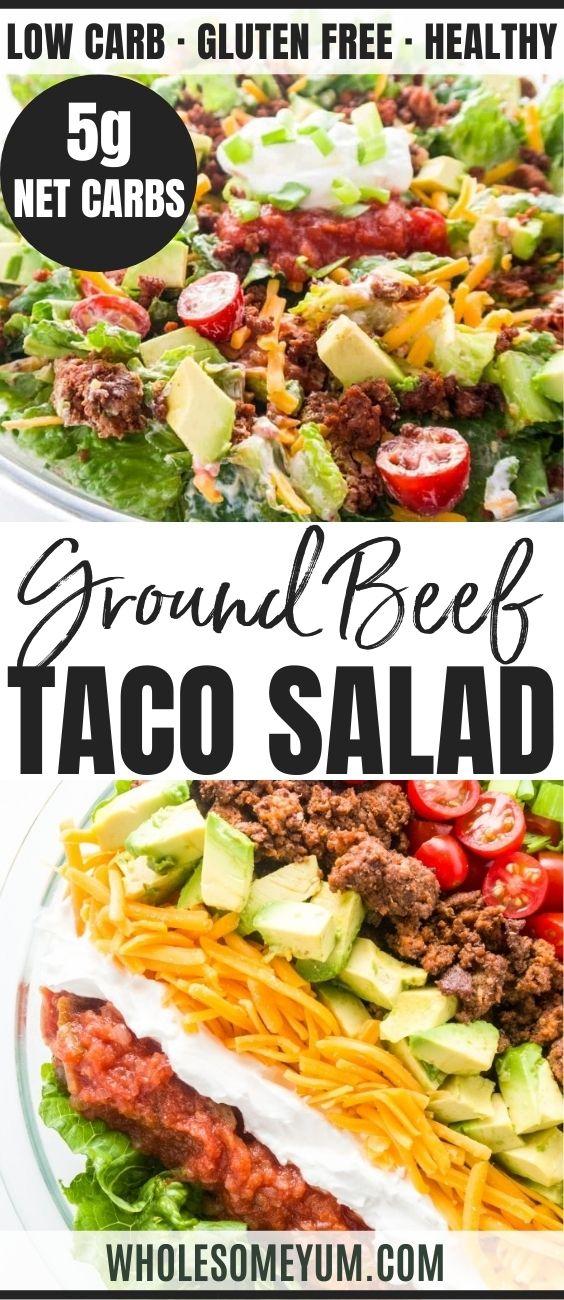Healthy Taco Salad Recipe Easy