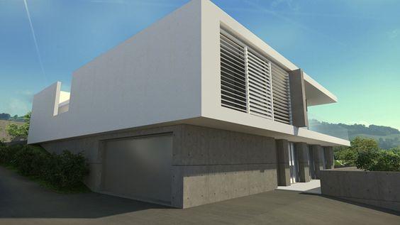 Maison d'architectes contemporaine - a2-Sb.com