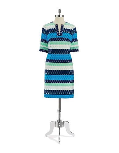 Women's Clothing | Dresses | Patterned Shift Dress | Lord and Taylor