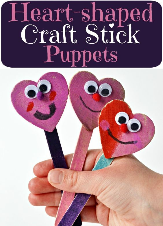 Need a quick, low-mess craft for Valentine's Day? These heart-Shaped craft stick puppets are super cute and simple to make. And we all know that simple, last-minute crafts are the best kind, right? You're going to be breaking out the paint for this craft which the kids will LOVE! Anyone else with kids who get …