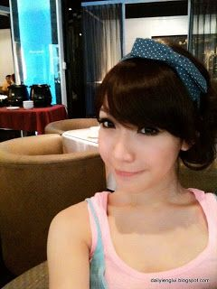 "Name: Alicia Liu Xun Ai (劉薰愛 / 小愛) Date of Birth: June 12, 1986 Measurements: 34C-25-34 Height: 172 cm Weight: 50 kg Source Image: http://www.wretch.cc/album/afy612 About: 24 year old successful Taiwanese model-cum-actress Alicia Liu Xun Ai (劉薰愛), nicknamed Xiao Ai (小愛) is described as having a face as innocent as an angel with sexy curves and a sweet voice. Her ""real"" identity was exposed when a schoolmate a year her junior revealed her ""secret"" on the Internet recently."