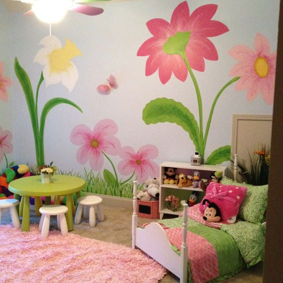 3d Large Size Round Dots Tree Wall Stickers Home Decor: My Little Girls Room