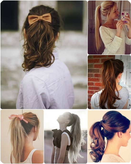 Fine High Ponytail Hairstyles High Ponytails And Ponytail Hairstyles Short Hairstyles Gunalazisus