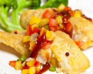 Tilapia à la mangue : http://www.fourchette-et-bikini.fr/recettes/recettes-minceur/tilapia-la-mangue.html
