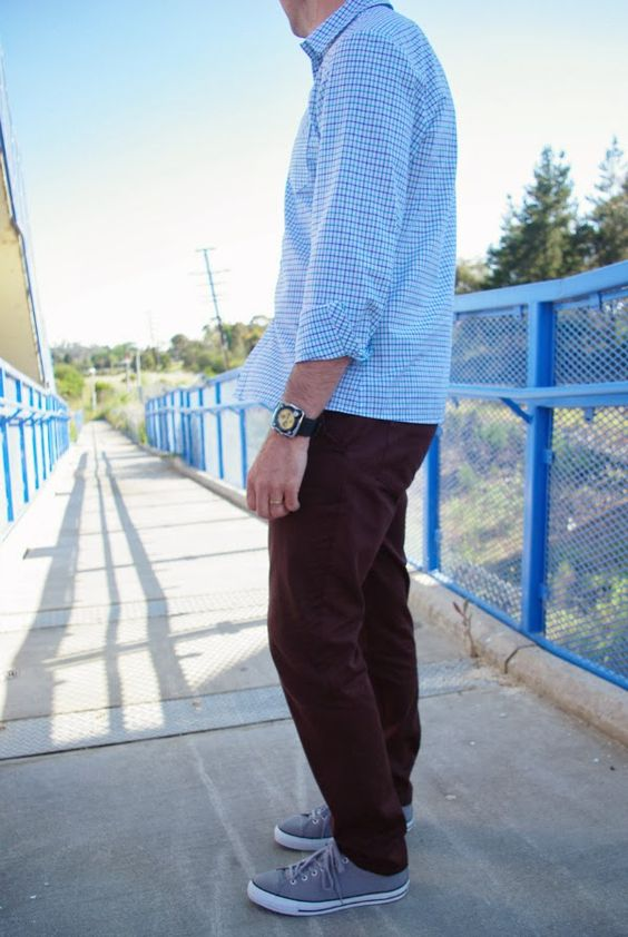 Huff's second pair of Jedediah Pants.  Blogged at: Huff Makes Stuff: Menswear Outfit Two: October