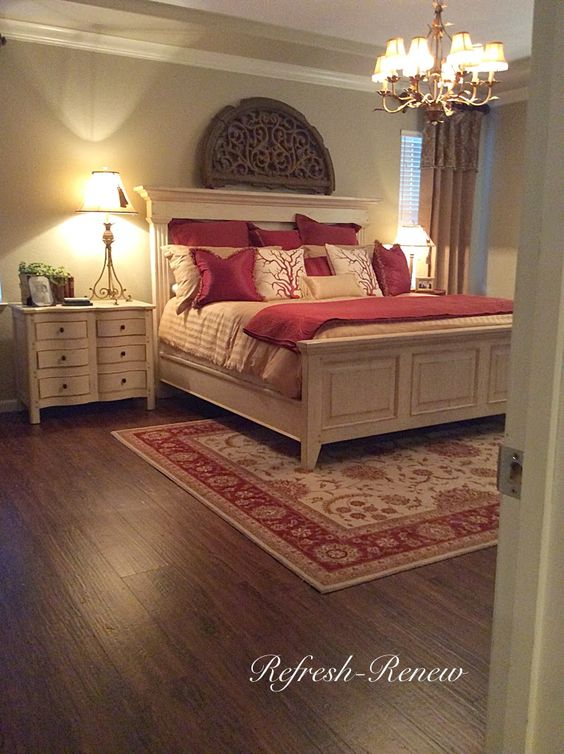 Refresh Renew Master Bedroom Reveal New Floors Wow Us Wednesdays Link Party Features