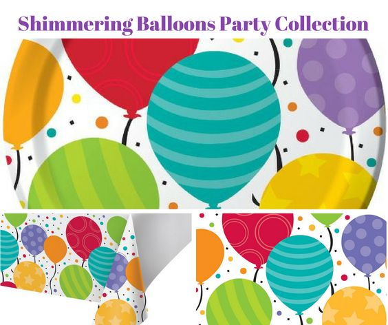 Shimmering Balloons Birthday Party
