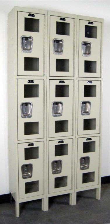 Clear View Lockers Increase School Security #lockers #clearviewlockers #schoollockers