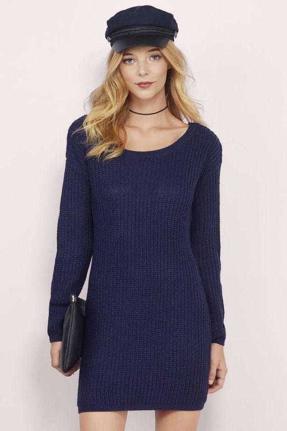 Lovely Sweater Dresses