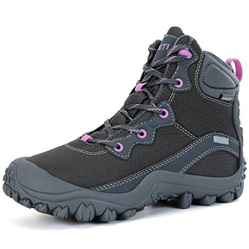 XPETI Women's Dimo Mid Waterproof Hiking Outdoor Boot Gray 7