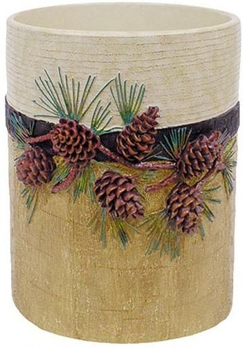 Lodge Bathroom Pine Cones And Lodge Decor On Pinterest