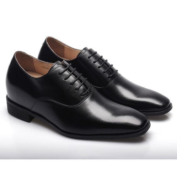 lace-up dress tall men shoes | Elevator Dress Shoes For men ...