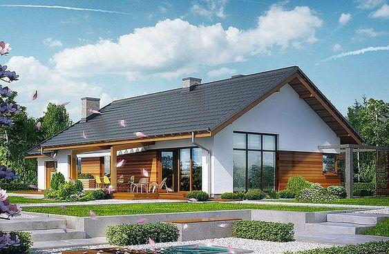 Proiecte de case mici, cu suprafețe între 50 și 125 metri pătrați | Adela Pârvu – jurnalist home & garden