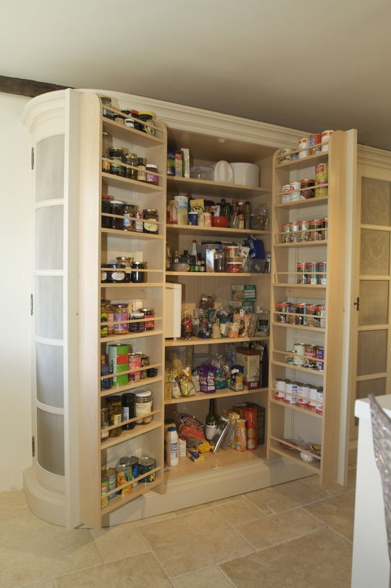 Larder Cupboard Cupboards And Can Can On Pinterest