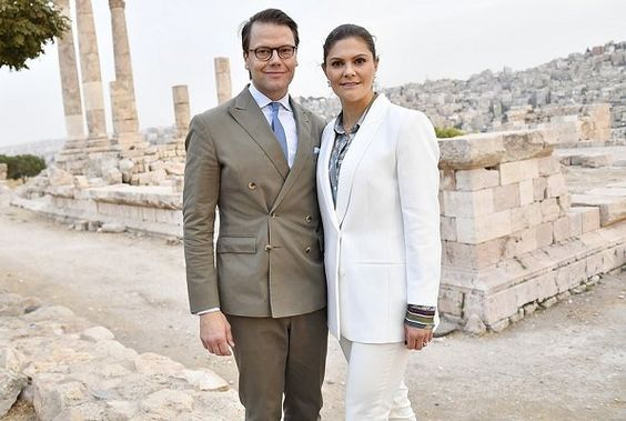 Crown Princess Victoria's and Prince Daniel's visit to Jordan