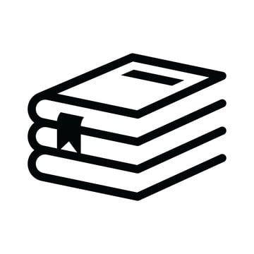 كتاب رمز قصاصات فنية القاموس نبذة مختصرة خلفية Png والمتجهات للتحميل مجانا Book Icons Icon Png Icons