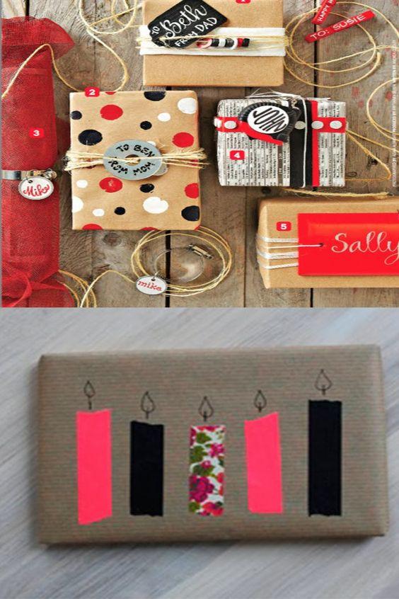 me parece buena idea para envolver un regalo de cumpleaos que a traves de las velas