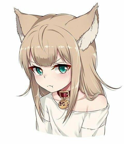 Pin On Anime Dog Girl Kawaii