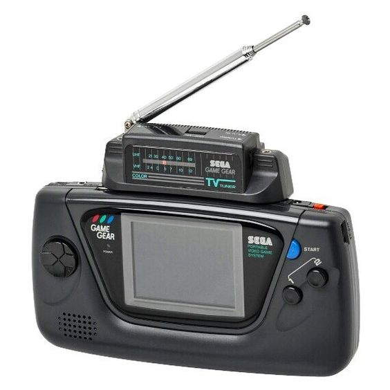 Sega Game Gear TV Tuner (1992) The TV Tuner is a Sega Game Gear accessory which allows users to watch (analog) television on the system's built-in screen. The TV Tuner plugs into the Game Gear's cartridge slot and has a mono A/V input meaning that if required a VCR camcorder or any other video game console can be connected and played on the Game Gear's screen. Sega was very keen to advertise the TV tuner in order to show off the Game Gear's color screen - something Nintendo's Game Boy…