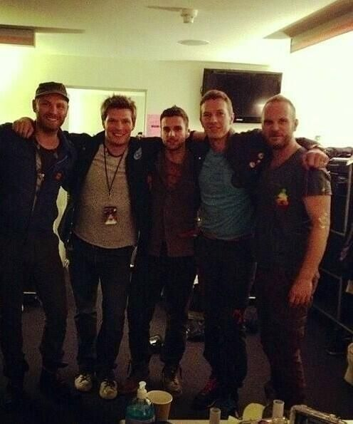 these 5 men are amazing - Jonny + Phil + Guy + Chris + Will = Coldplay