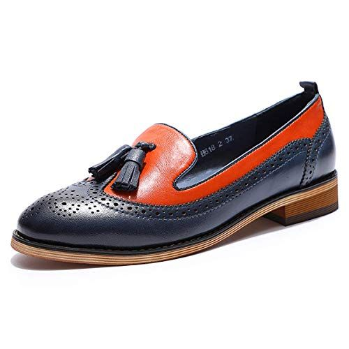 where can i buy release date: hot product Amazon.com | Mona flying Womens Leather Tassel Penny Loafer Casual ...
