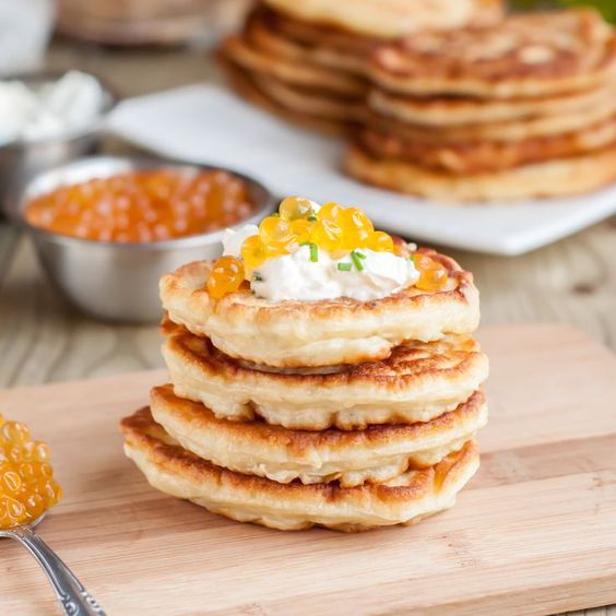 You'd never guess there's veggies in there! Fluffy Squash Pancakes