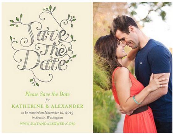 Las Save the Dates m s originales Foto Wedding Paper Divas – Save the Dates Wedding Paper Divas
