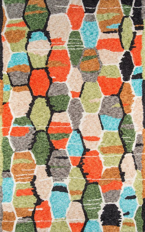 Bungalow Handwoven Flatweave Orange Green Area Rug With Images