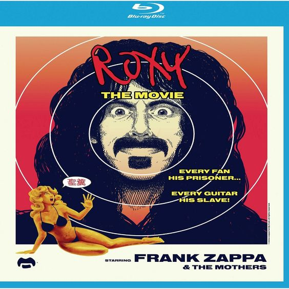 Frank Zappa and the Mothers of Invention: Roxy the Movie [CD/Blu-ray]