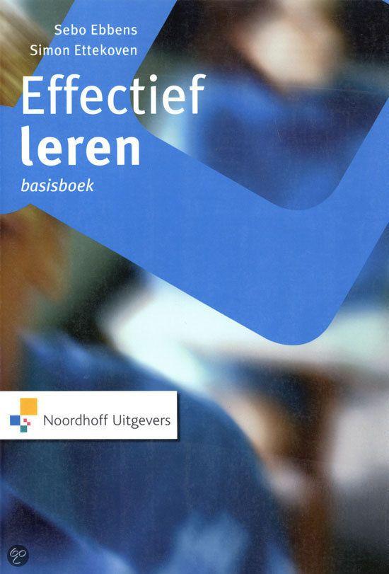 bol.com   Effectief leren / Basisboek, S. Ebbens & S. Ettekoven   Boeken