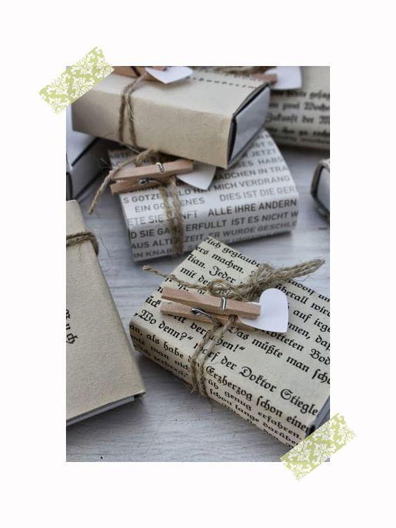 10 nuevas ideas originales para envolver regalos ideas y - Envolver libros de forma original ...