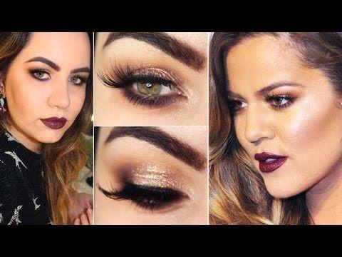 Khloe Kardashian makeup TUTORIAL