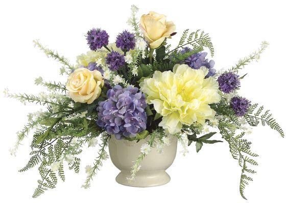 Hydrangea, Peony and Rose Arrangement: