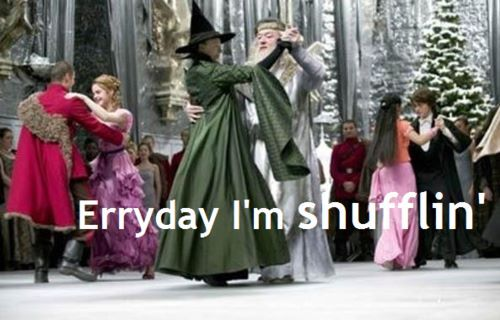 Erryday I'm Shufflin'