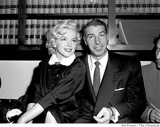 14011954 Mariage Marilyn et Joe Divine Marilyn Monroe Joe