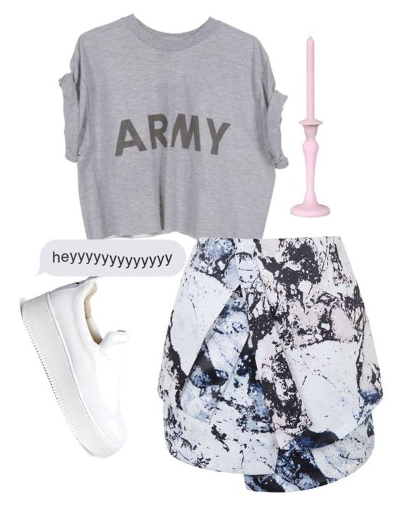 """Mixed Outfit"" by luisaf8833 on Polyvore featuring moda, Topshop, Windsor Smith y Bitossi"