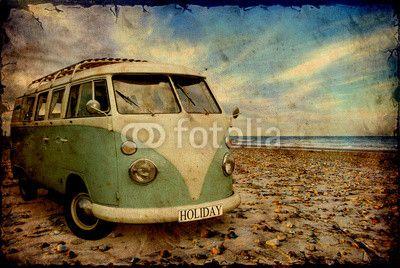 Old Bulli at the Beach