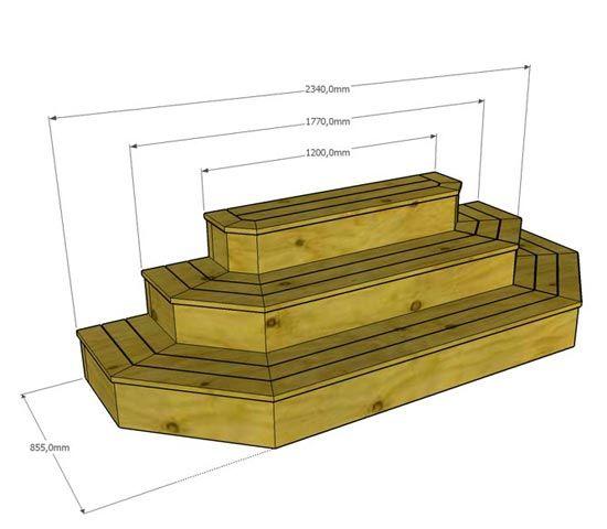 bygga trappa till altan - Sök på Google | Trädäck | Pinterest | Portal