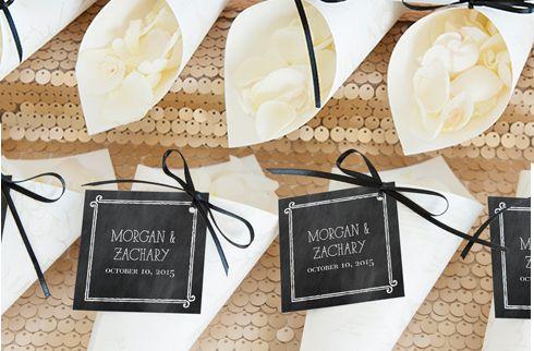 diy wedding ceremony confetti cones wedding wedding